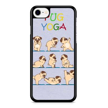 Pug Yoga iPhone 8 Case