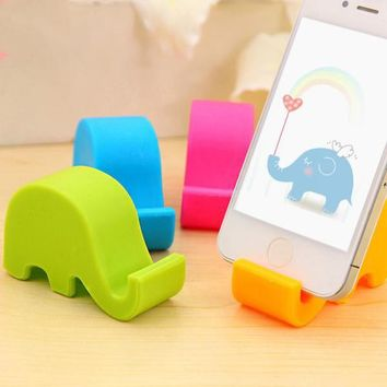 Cute Elephant Phone Holder