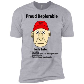 funny proud deplorable political cartoon sweatshirt T-Shirt