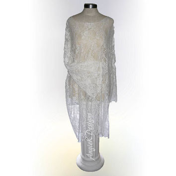 MILK BATH Lace Gown/Maternity Photo Shoot/Professional Photography Dress/Made in USA to Order/Colors Available