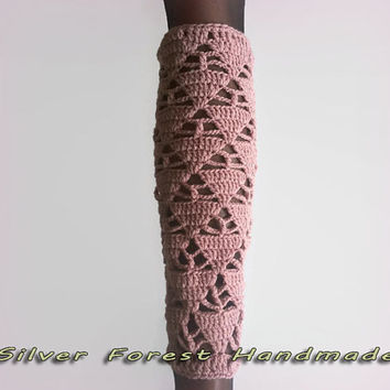 Bermuda Triangle Leg Warmers, woman accessories boot cuffs High socks Boot socks Leg warmer