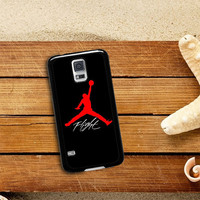 FLIGHT OF JORDAN AIR Samsung Galaxy S5 Case Planetscase.com