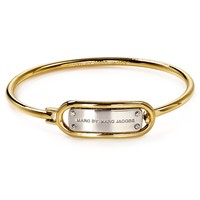 MARC BY MARC JACOBS Ring Around Plaque Hinge Cuff