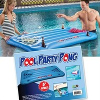 Pool Party Pong Pool Float - Play Beer Pong in Your Pool!