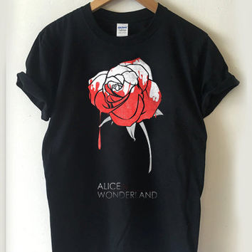alice in wonderland T-shirt Men, Women and Youth