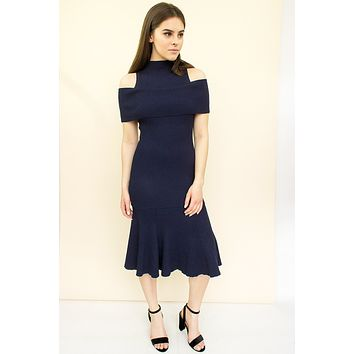 Rebekah Dress - navy