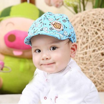Hot Sale Baby Boys Girls Kid Hats Fashion Cartoon Print Peaked Baseball Beret Cap Popular Casual Children Kids Hat