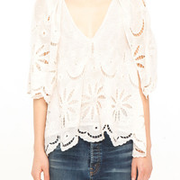 The Caped Flutter Top.