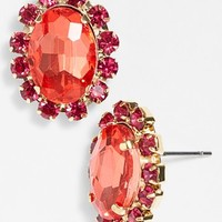 Nordstrom 'Lady Lux' Oval Stone Stud Earrings | Nordstrom