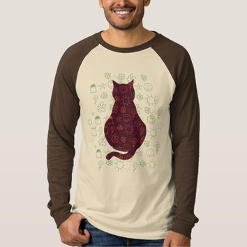 Cat Lover Long Slave T-Shirt