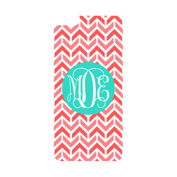 Coral Aztec Chevron iPhone 6/6s Plus Case (Apple)