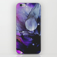 A Violet Gaze iPhone Skin by duckyb