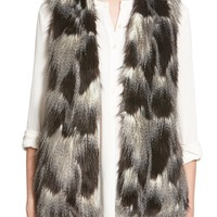 Sun & Shadow Faux Fur Vest | Nordstrom