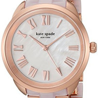 kate spade new york Women's 'Crosstown' Quartz Stainless Steel Casual Watch, Color:Rose Gold-Toned (Model: KSW1262)