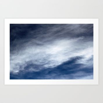 Sky Clouds Art Print by Henrik Lehnerer