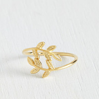 Boho The Leaf I Can Do Ring by ModCloth
