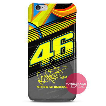 Valentino Rossi VR46 New Sun Moon iPhone 6 6 Plus 5s 5c 4 3 iPod Case Cover Series