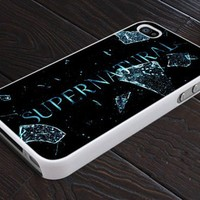 Supernatural Logo Custom - Print On Hard Cover For iPhone 4,4S