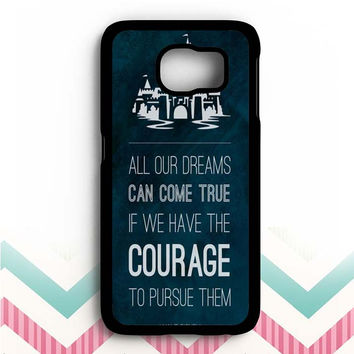 Walt Disney Courage Samsung Galaxy S6 Case