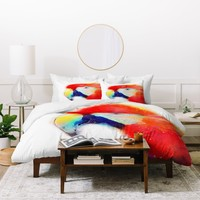 Jacqueline Maldonado The Articulate Duvet Cover