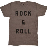 Rock & Roll Tri-Coffee T-Shirt