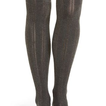 Treasure&Bond Pointelle Over The Knee Socks | Nordstrom