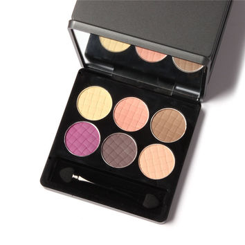Myboon Cosmetic Set 6 colors Professional Natural Matte Eyeshadow Makeup Eye Shadow Palette Naked Nude Eye Shadow