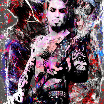 Dave Navarro Art - Jane's Addiction