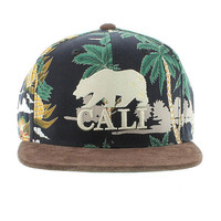 California Republic The Haven Strapback - Black & Brown By American Needle