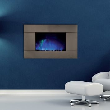 Electric wall-mounted fireplace PURE by BRITISH FIRES