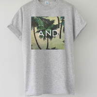 ANDCLOTHING — Tropical AND Tee