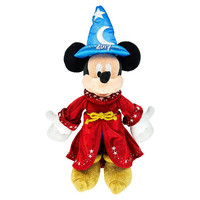 """Disney Parks 2017 Mickey Mouse Sorcerer 12"""" Plush New with Tag"""