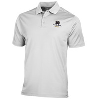 Notre Dame Fighting Irish Under Armour Solid Performance Polo – White
