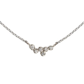Hydra White Diamond Necklace - Catbird