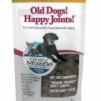 Ark Naturals Gray Muzzle Joint Health Senior Dog Treats