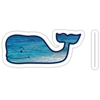 Beach Vineyard Vines whale by acorcoran21