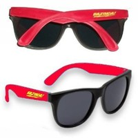 The Big Bang Theory Sheldon Cooper Bazinga Mens Womens Red Sunglasses Prop
