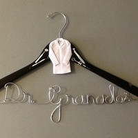 Personalized Dentist - Doctor Hanger, New Graduate or The Soon to Be Dentist, Great Gift