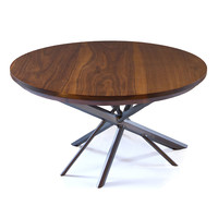 KAOS SIDE TABLE | Round Walnut End Table | UncommonGoods