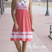 My Perfect Spring Dress in Coral
