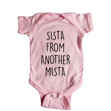 Sista From Another Mista Baby Onesuit