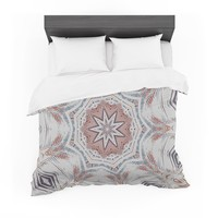 "Alison Coxon ""Boho Dream Tan"" Pink Blue Featherweight Duvet Cover"