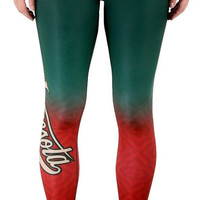 Minnesota Wild Womens Gradient Official NHL Leggings