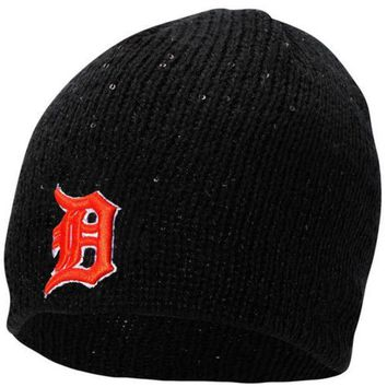 ESBON MLB Detroit Tigers Ladies The Glistener Knit Hat