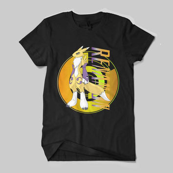 Renamon Digimon Character Anime Japan T-Shirt Unisex Size