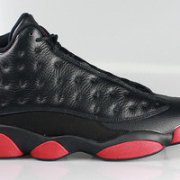 Air Jordan Men's 13 XIII  Retro Black Gym Red