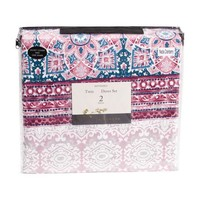 Nena Boho Reversible Duvet Set