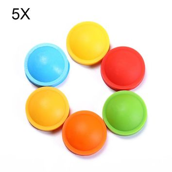 5pcs Children Anti Mosquito Repellent Bracelets Silicone Plant Essential Oil Baby Infant Hand Rings