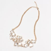 Mixed Crystals Statement Necklace | perfectsunday.co