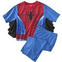 AME Sleepwear Boys 2-7 The New Spiderman Uniform Sleepset $17.99